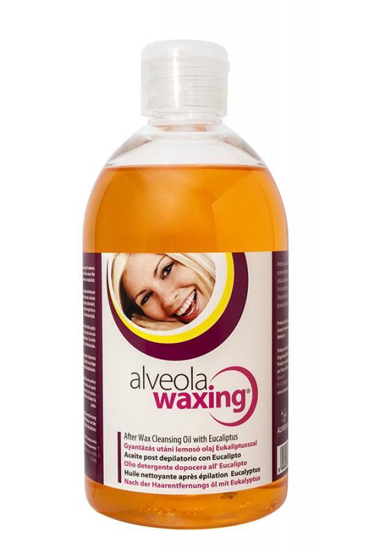 Alveola Waxing Gyantázás utáni lemosó olaj Eukaliptusszal 500ml (9708)