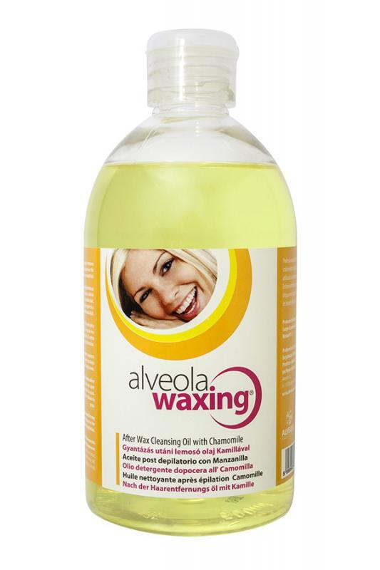 Alveola Waxing Gyantázás utáni lemosó olaj Kamillával 500ml (9707)
