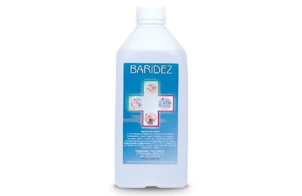Baridez felületfertőtlenítő 1 liter
