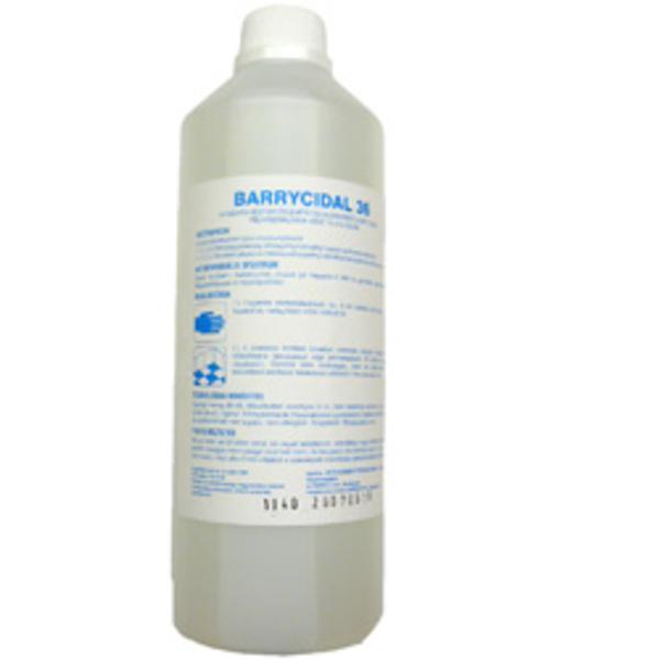 Barrycidal 36 -1 literes. Higiénés kéz-, és felület-fertőtlenítőszer.
