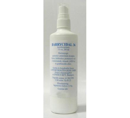 Barrycidal 36 - 200ml Felületfertőtlenítő