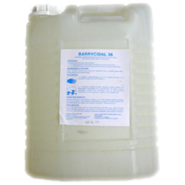 Barrycidal 36 - 5 liter. Higiénés kéz-, és felület-fertőtlenítőszer.