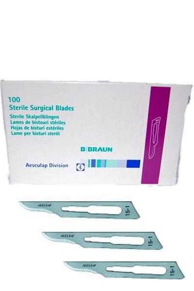 B BRAUN steril szikepenge 100db #15-ös méret