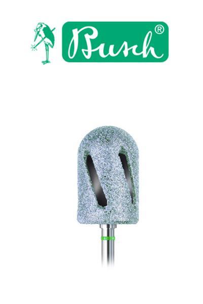 Busch DT gyémánt fréz hengeres (hő elvezetős) Zöld