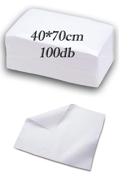 Eldobható papírtörölköző (40x70) 100 db/csomag