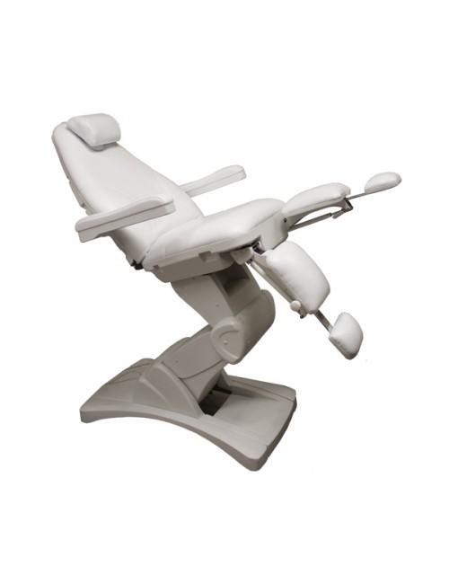 Elektromos pedikűrős kezelőágy oldalra kihajtható lábtartóval (Pedok)
