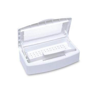 Eszközfertőtlenítő doboz, fehér, ablakos