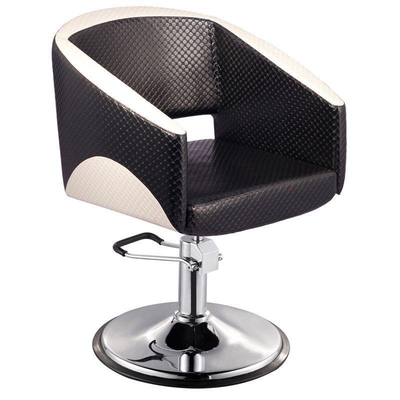 Fodrász kiszolgáló szék (Paris), fekete/beige színben