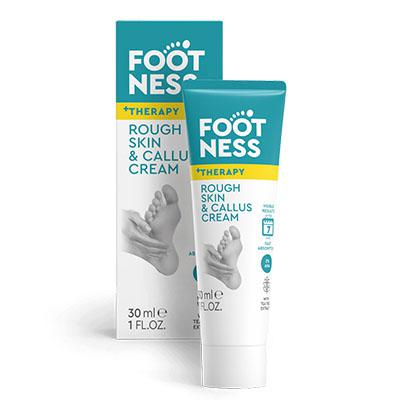 Footness szalicilsavas lábkrém bőrkeményedés ellen 30ml