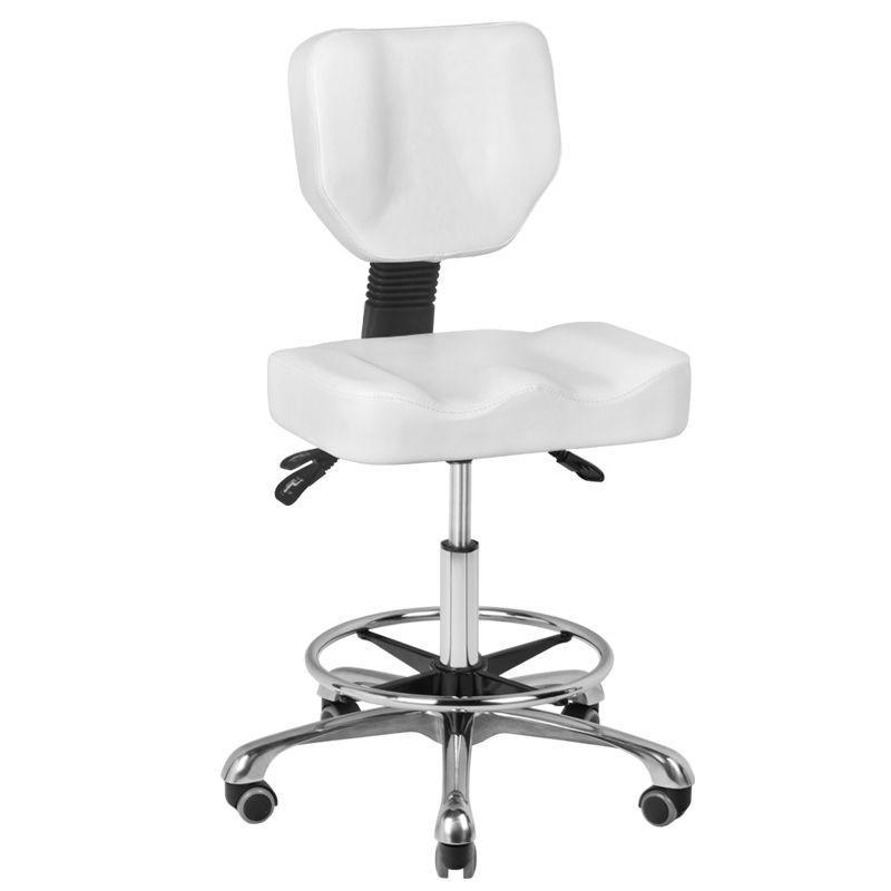 Forgó ülőke háttámlával, ergonomikus kialakítással (komfort). (9193)