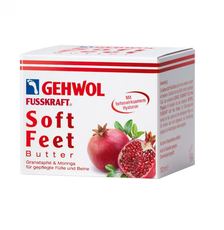 Fusskraft Soft Feet gránátalmás vaj 100ml