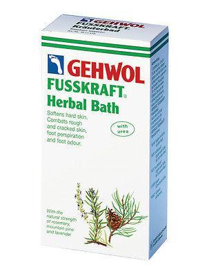 Gehwol Fusskraft Gyógynövényes lábfürdő 400g