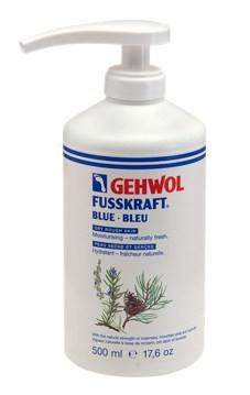 Gehwol Fusskraft Kék, pumpás. 500ml
