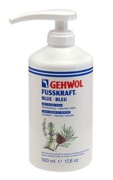 Gehwol Fusskraft Kék, pumpás. 500ml