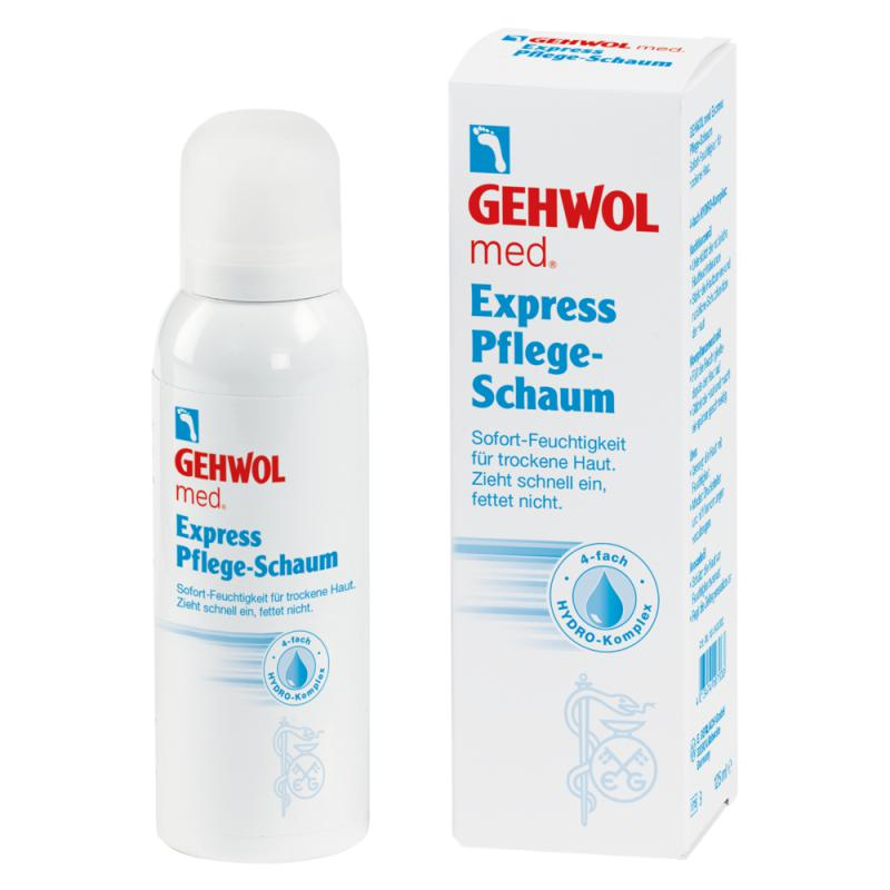 Gehwol med Express hidratáló hab 125ml