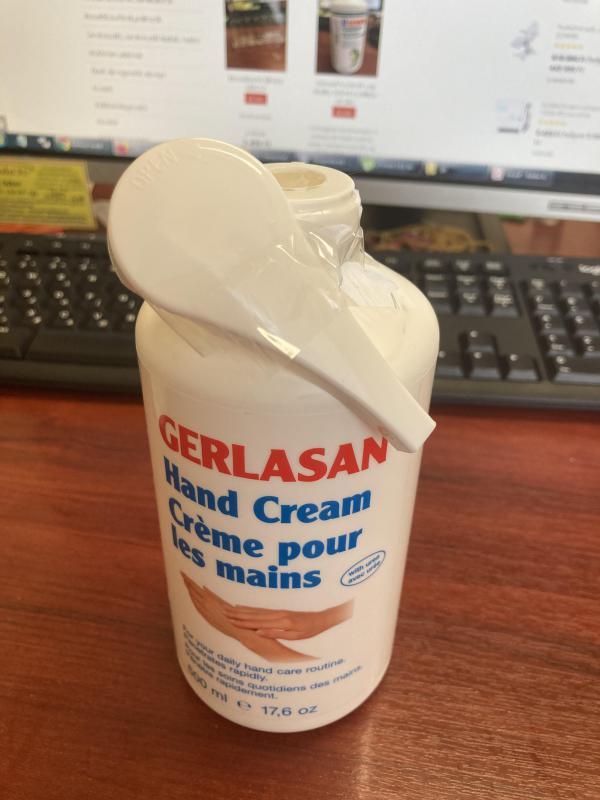 Gerlasan kézkrém 500ml (szállítás sérült)
