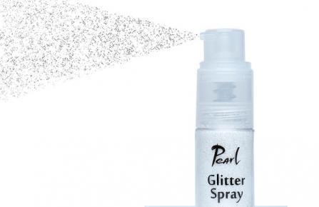 Glitter spray - Shining silver 9g