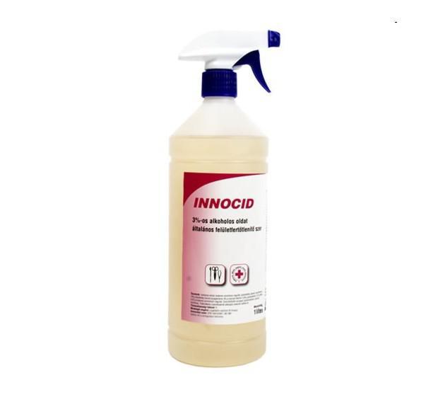 INNOCID 1 liter spray műszerfertőtlenítő és eszközfertőtlenítő 3%-os oldat