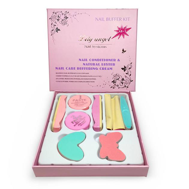 Japán manikűr készlet (pink)
