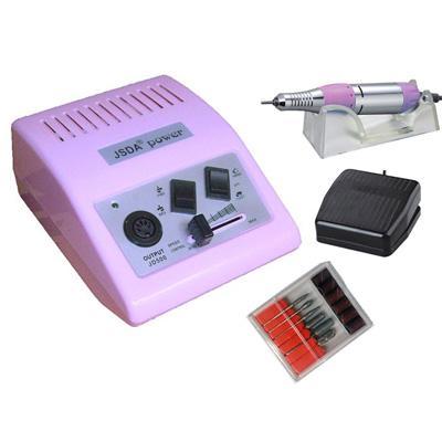 JD500 csiszológép pink színű, AJÁNDÉK CSISZOLÓKÉSZLETTEL