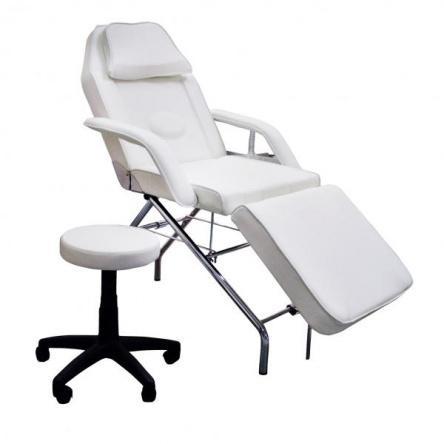 Kozmetikai kezelőágy, ajándék gurulós forgó ülőkével (2201)