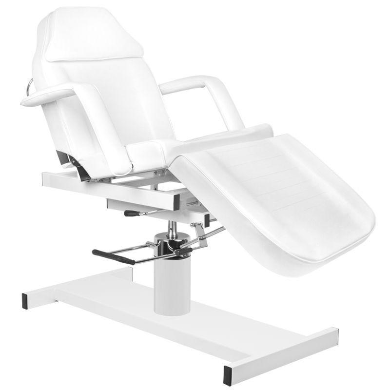 Kozmetikai kezelőszék, hidraulikus, dönthető üléssel, lepedőtartóval (4947)
