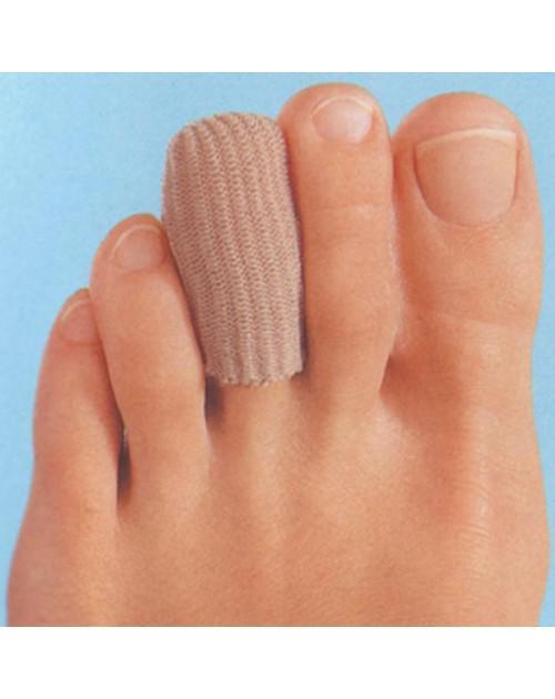 Lábujjvédő sapka szövet-gél közepes kabinet 6db
