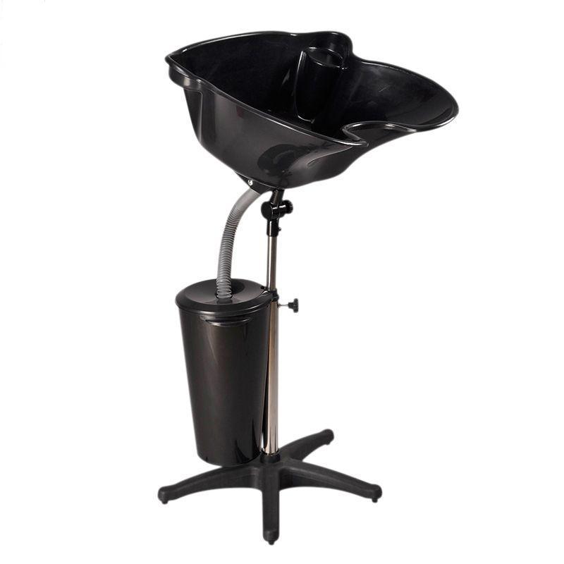 Mobil fejmosó fekete, műanyag, tartállyal (5894)