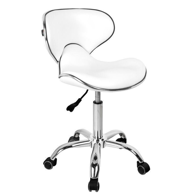 Modern forgó ülőke háttámlával, ergonómikus kialakítással (6672).