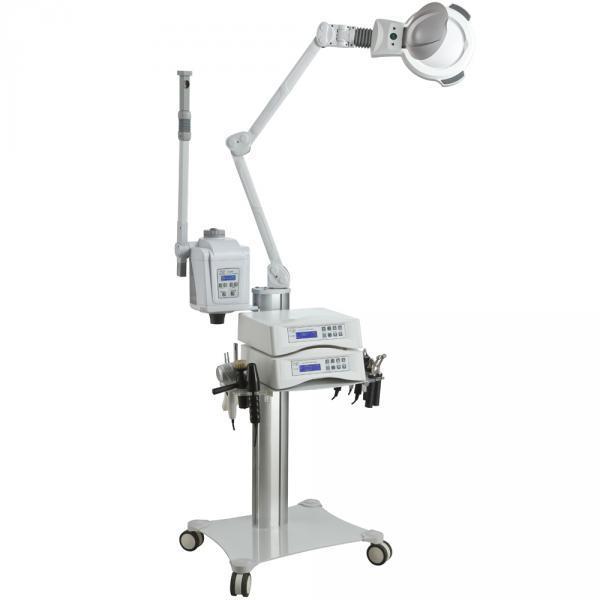 Modular Plus kezelőgép állvány gőzölővel, nagyítós lámpával (503052)