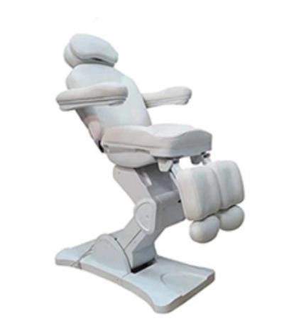 Pedikűr szék 3 motoros, oldalra kihajtható lábtartóval. A/M