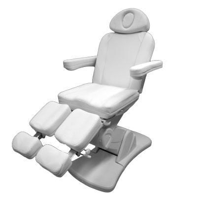 Pedikűr szék 3 motoros, oldalra kihajtható lábtartóval A/OR.