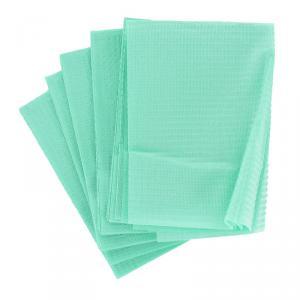 Vízhatlan papír munkaterítő 35x45cm 50db, zöld