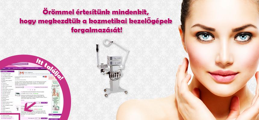 Kozmetikai kezelőgép