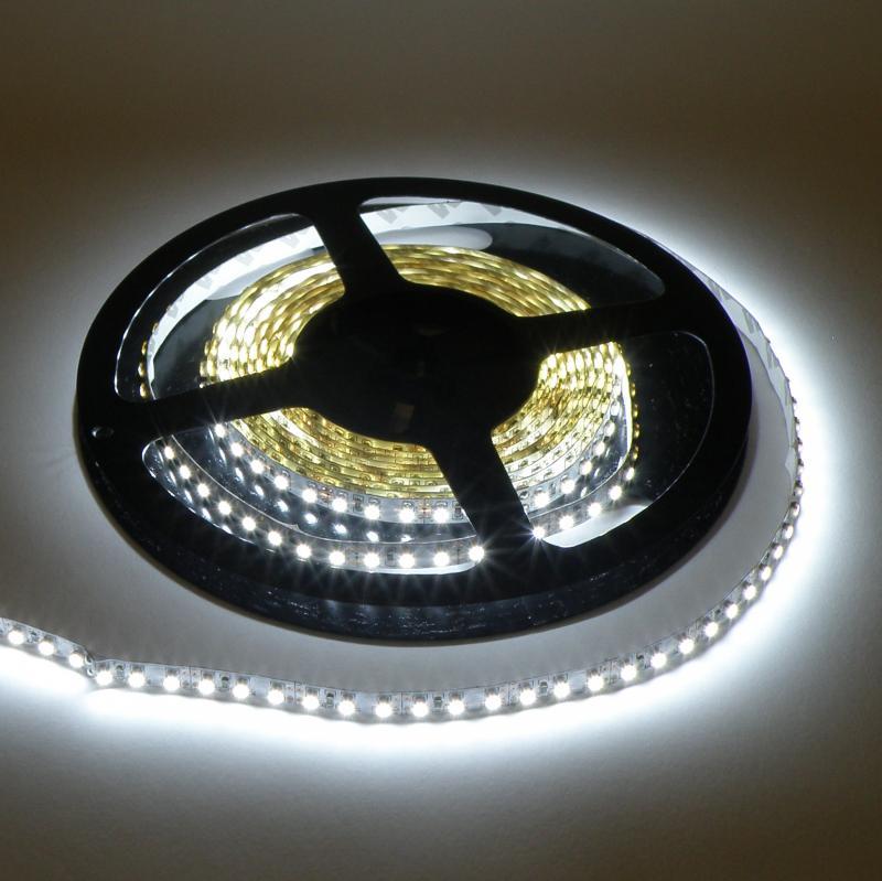 Beltéri (IP20) hideg fehér 120 LED/m led szalag, ledszalag