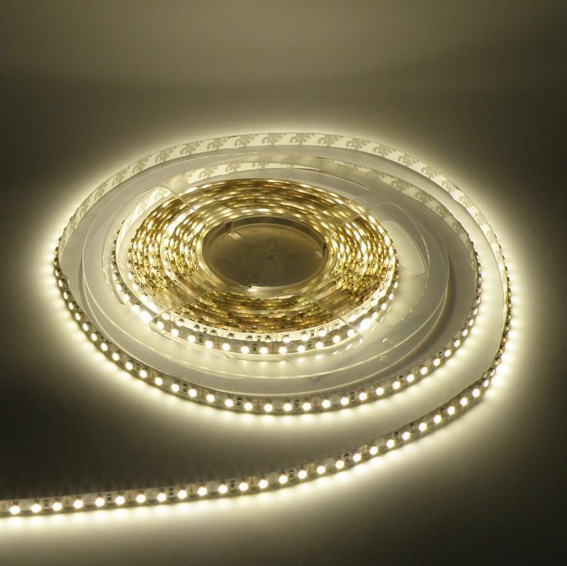 Beltéri (IP20) meleg fehér 120 LED/m led szalag, ledszalag