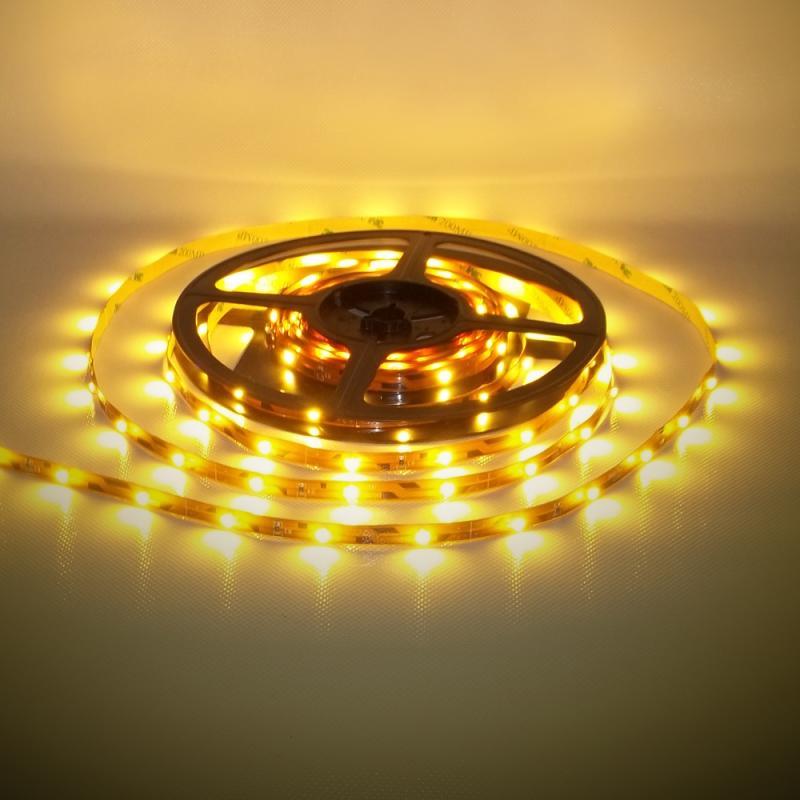 Beltéri (IP20) meleg fehér 30LED/m LED szalag