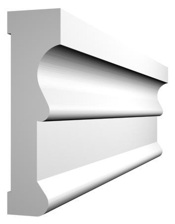 KL-1 kültéri díszléc - natúr felülettel