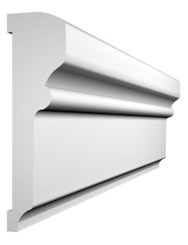 KL-2 kültéri díszléc - natúr felülettel
