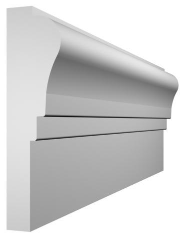 KL-25 kültéri díszléc - natúr felülettel