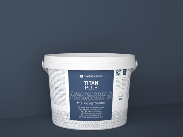 Klej Titanium 4kg mennyezeti lap ragasztó