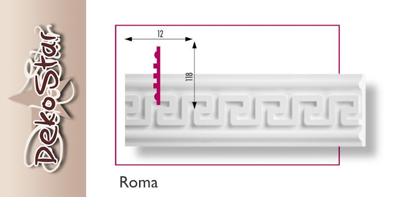 ROMA fali díszléc