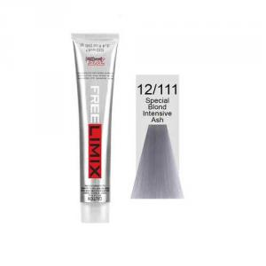 Freelimix hajfesték 12.111 Intenzív speciál hamvas szőke 100 ml 1+2