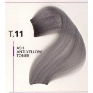 Ice Toner T.11 Ash Anti-yellow Toner 100 ml Mix 1:2