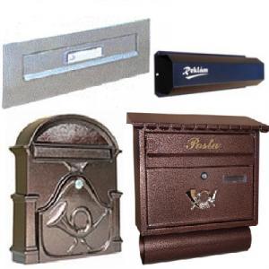 Postaláda, levélbedobó,kulcsszekrény