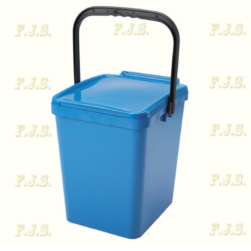 21 l. kék fedeles Urba szelektív hulladéktároló műanyag