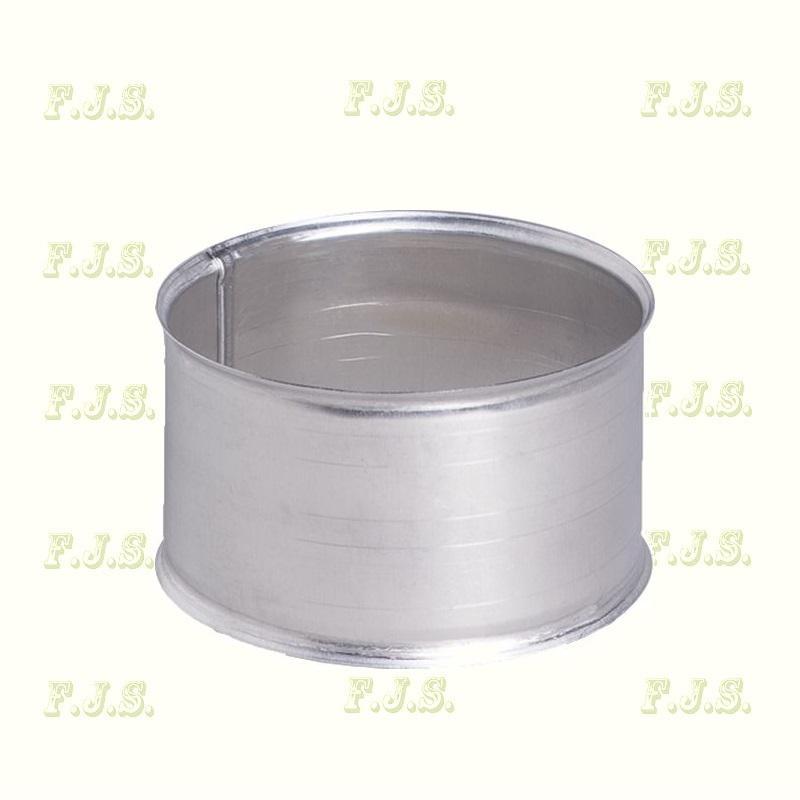 alumínium falhüvely Ø110 natúr