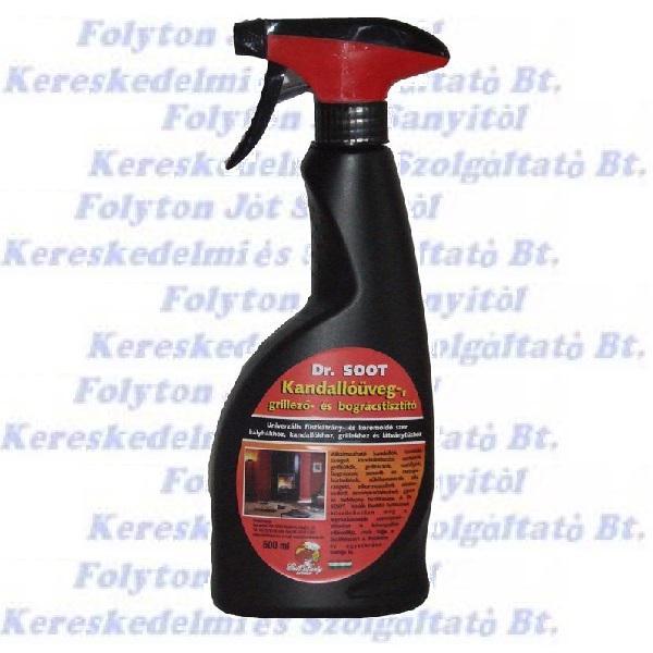 Dr. Sooth grill, bogrács és kandallóüveg tisztító 500 ml