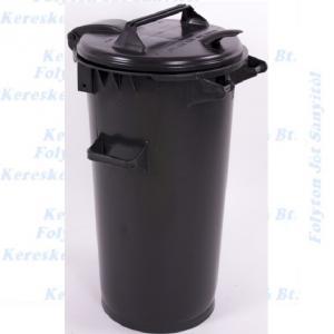 Kuka 50 l. fekete hulladéktároló műanyag CE