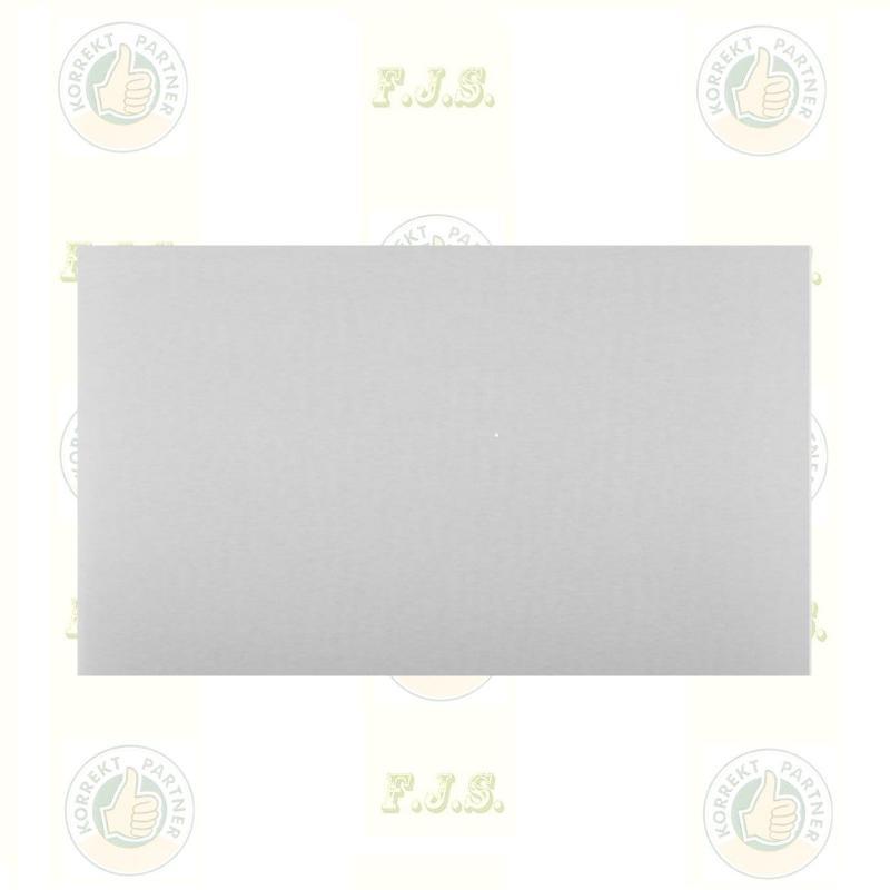 Falvédő lemez szinterezett fehér 80x50cm kandalló és Kályha mögé